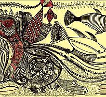 Life under the ocean by Phasmida