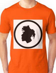 Black Head Logo Unisex T-Shirt