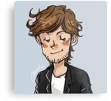 Smirking Louis Metal Print