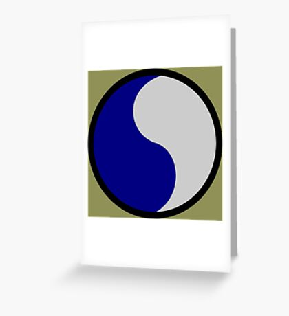 29th Infantry Division (United States) Greeting Card