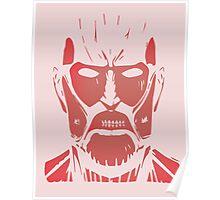 colossal titan design Poster