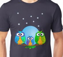 The family Owl Unisex T-Shirt