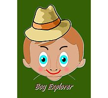 """TOON Boy 3 Explorer T-shirt, etc. design Photographic Print"