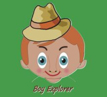 """TOON Boy 3 Explorer T-shirt, etc. design Kids Clothes"