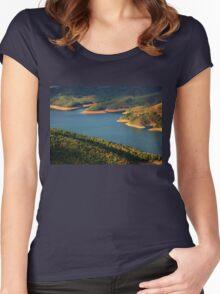 Lake Plastiras Women's Fitted Scoop T-Shirt