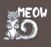 Snow leopard meow Kids Clothes