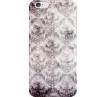 Blood stained baroque - gothic print iPhone Case/Skin