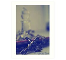 Catholic Still Life Art Print