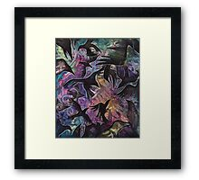 Crow of Crows Framed Print
