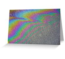 over the roadbow Greeting Card