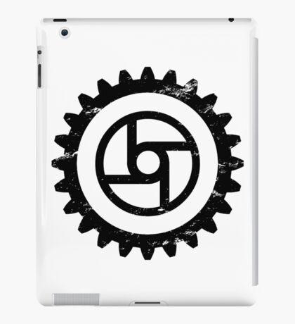 Gear-Transportation-Black iPad Case/Skin