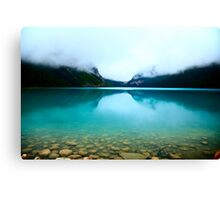 Clouds Lake Louise Canvas Print