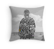 Jesse Pinkman Quotes Throw Pillow