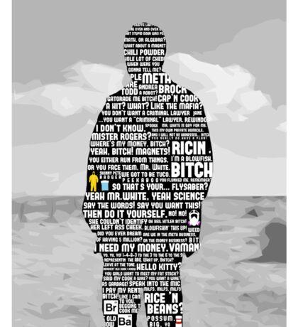 Jesse Pinkman Quotes Sticker