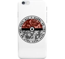 I Wanna Be The Very Best iPhone Case/Skin