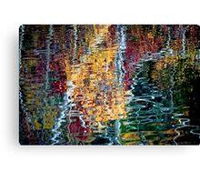 Fall Ripples Canvas Print