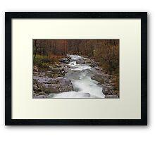 Cervo Valley  V Framed Print