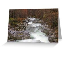 Cervo Valley  V Greeting Card