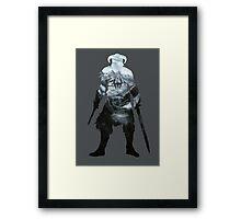 Dovahkiin -skyrim  Framed Print