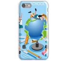 School Chancellery Set iPhone Case/Skin