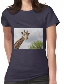 Giraffe, Chester Zoo Womens Fitted T-Shirt
