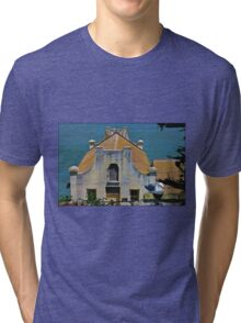 Seagull at Alcatraz Tri-blend T-Shirt