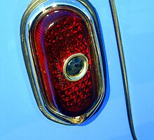 """Blue Dot Tail Light"" by Lynn Bawden"