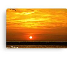 Wisconsin Sunrise Canvas Print