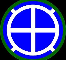 35th Infantry Division 'Sante Fe' (United States) by wordwidesymbols