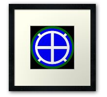 35th Infantry Division 'Sante Fe' (United States) Framed Print