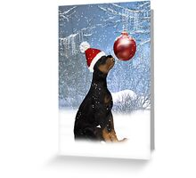 """lookie a bauble"" Greeting Card"