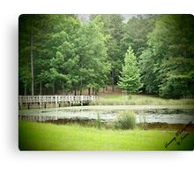 A View of Serenity Canvas Print