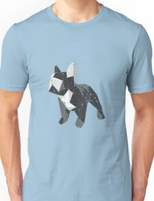 Cute little french bulldog low poly Unisex T-Shirt
