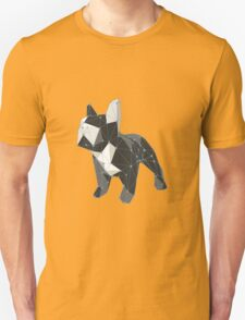Cute little french bulldog low poly T-Shirt
