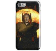 Mystical Magician by Sarah Kirk iPhone Case/Skin