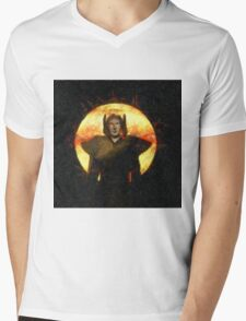 Mystical Magician by Sarah Kirk Mens V-Neck T-Shirt