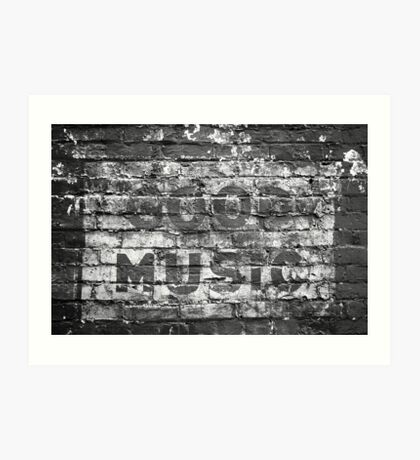 good music Art Print