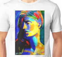 """Blazing in gold"" Unisex T-Shirt"