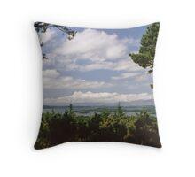 The Lakes of Killarney Throw Pillow