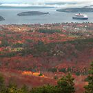 Bar Harbour Cadillac Mountein View, Acadia National park by Gyuri Nagy