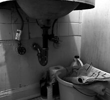 under the bathroom sink by dedmanshootn