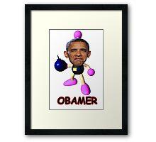 OBAMER Framed Print