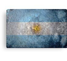 Argentina Grunge Canvas Print