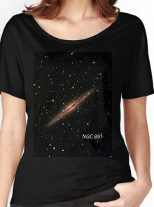 NGC 891 Women's Relaxed Fit T-Shirt