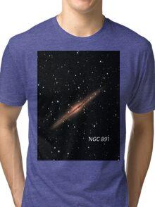 NGC 891 Tri-blend T-Shirt