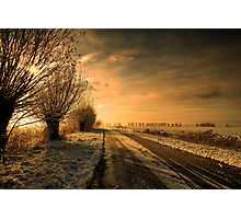 Dutch Winter Countryside Photographic Print