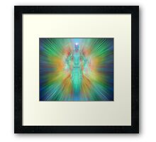 Angelic projection Framed Print