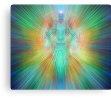 Angelic projection Canvas Print