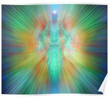 Angelic projection Poster