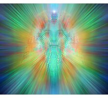 Angelic projection Photographic Print